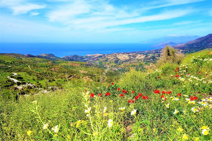 La vallée d'Amari en Crète