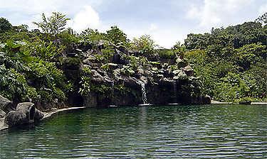 Jardins de la cascade La Paz