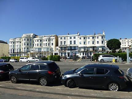 Architecture des maisons ayant vue sur mer