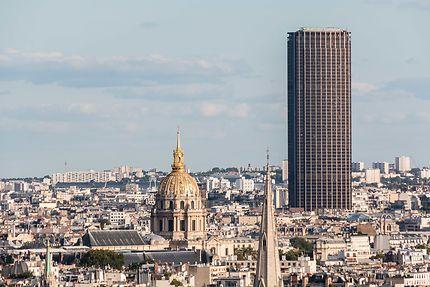 Tour Montparnasse depuis l'Arc de Triomphe