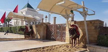 Mausolée Royal des rois Marocains à Rabat