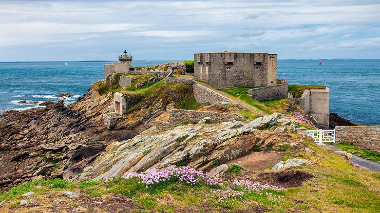 La presqu'île de Kermorvan - Finistère (Bretagne)