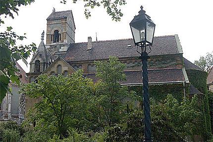 Réplique de la chapelle de Ják au château Vajdahunyad