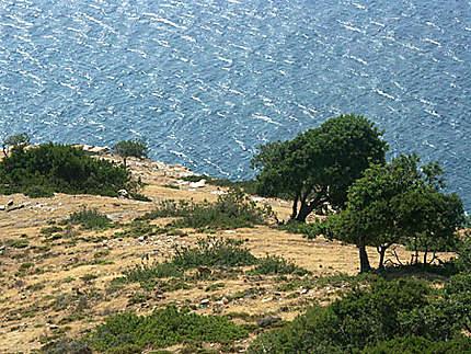 Côte nord de la Crète entre Héraklion et Réthymnon