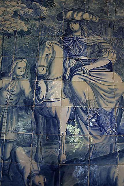 Azulejos (Palais national de Sintra)