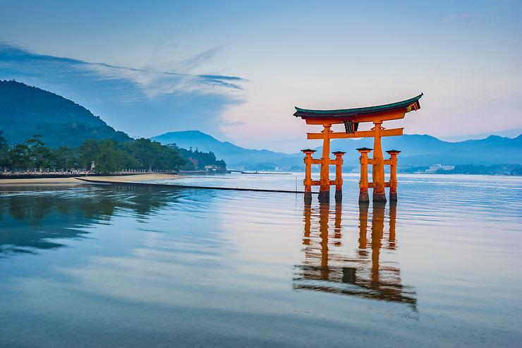 Japon - Le fameux torii de Miyajima en travaux dès juin