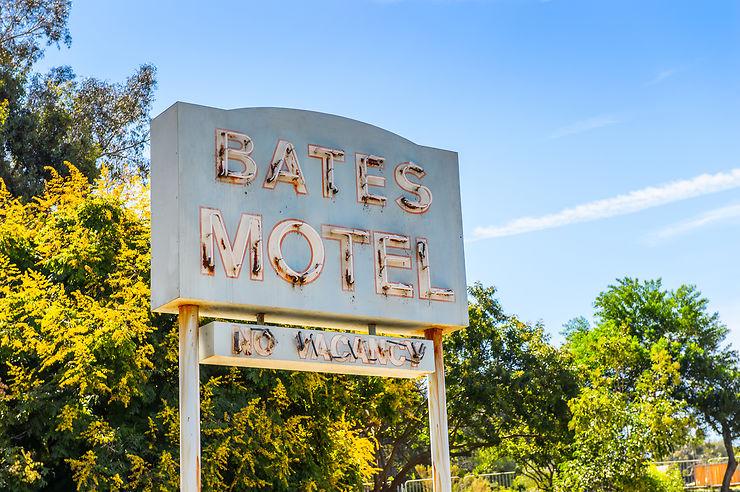 Le motel et la maison de Norman Bates  à Burbank en Californie : Psychose