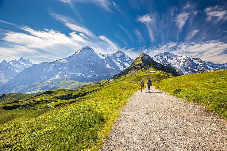 La Suisse, terre de randonnées