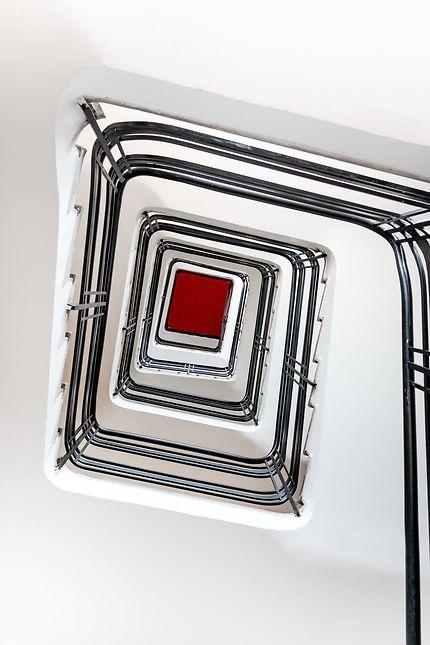 Escaliers graphiques de l'Hôtel de Ville