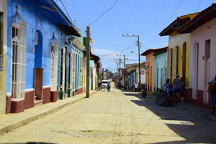 Rue de Trinidad, à Cuba