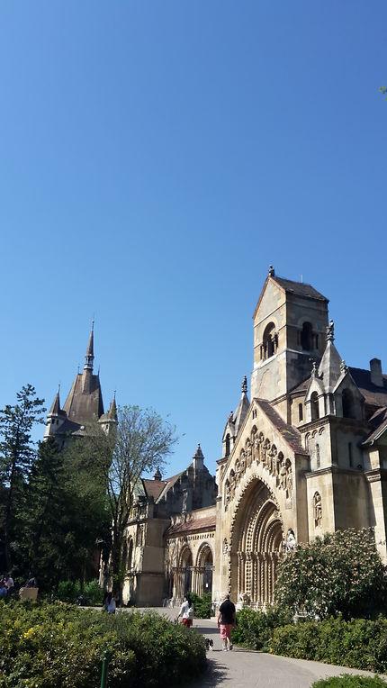 Sublime château Vajdahuynad à Pest