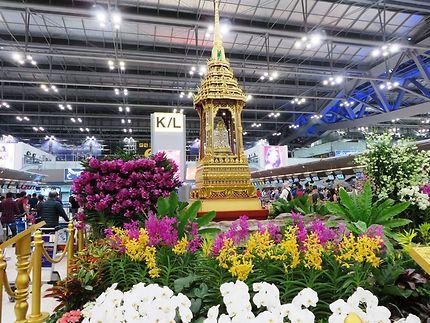 The multi-tiered roof, Thaïlande