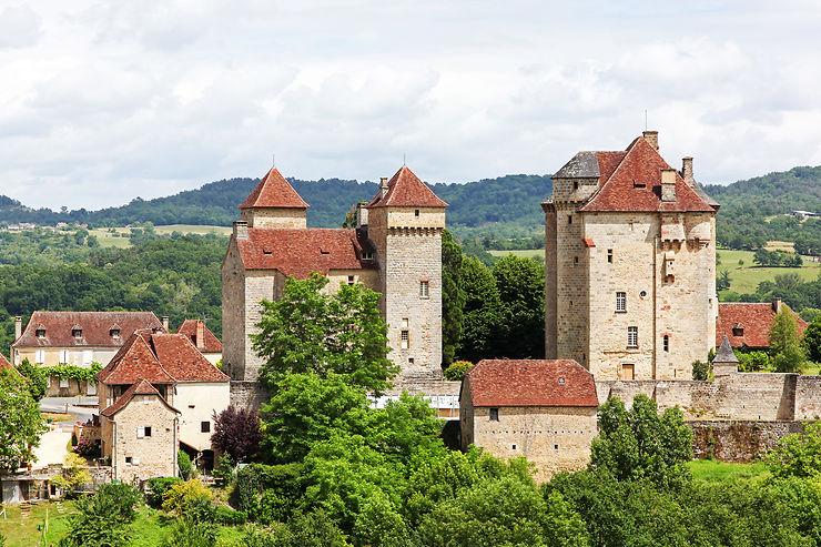 Vignobles et châteaux de Curemonte - Corrèze (Limousin)