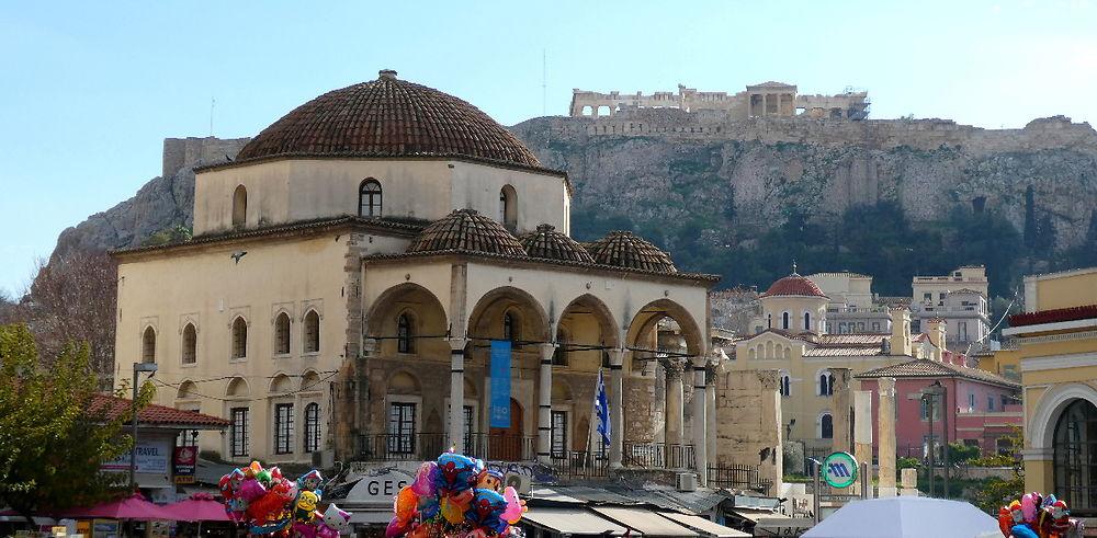 Nouvel An à Athènes