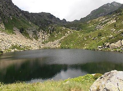 Etang de Baxouillade, réserve naturelle d'Orlu