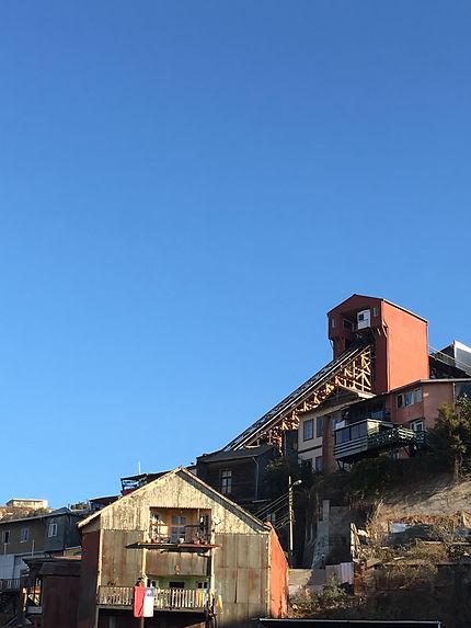 Ascensor Monjas Valparaíso