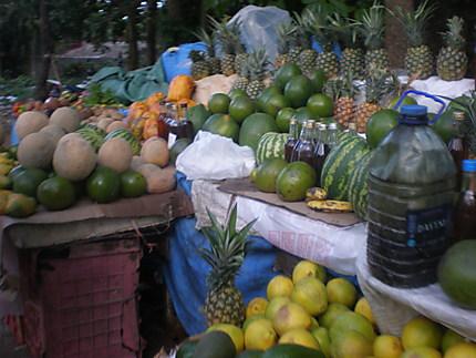 Étalage de fruits