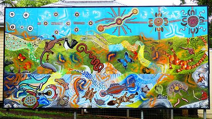 Fresque à Nimbin