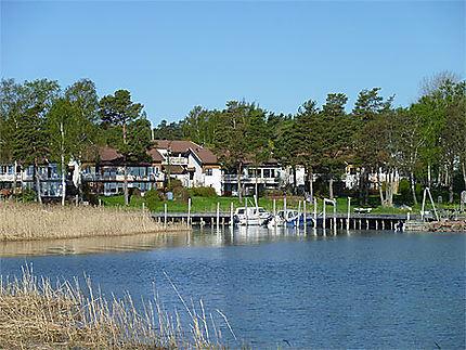 Quartier résidentiel de Mariehamn