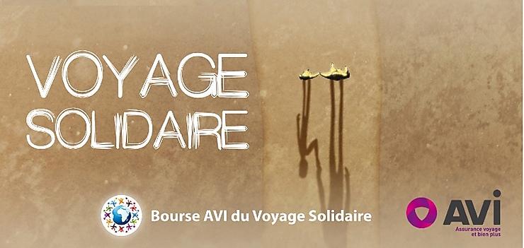 Voyage solidaire - Les lauréats de la bourse AVI du voyage solidaire 2017
