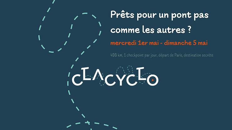 La Clacyclo à Paris et en Provence