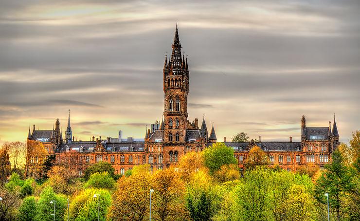 Glasgow, nuit et jour