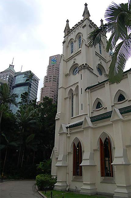 Eglise sur l'île de Hong Kong
