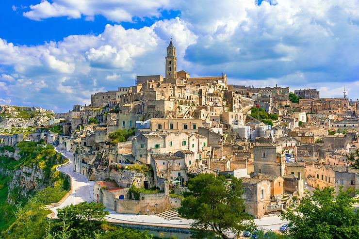 Matera, l'incroyable cité troglodyte