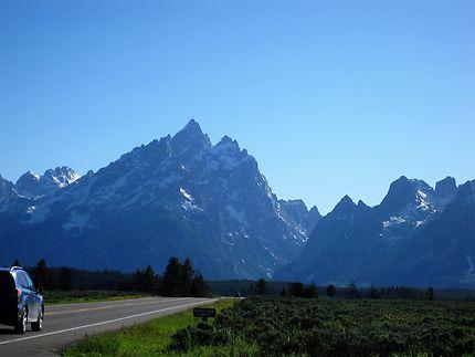 Parc National du Grand Teton Wyoming U.S.A