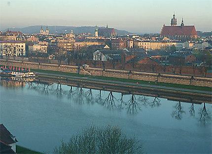 Vistule, view from Qubus hotel