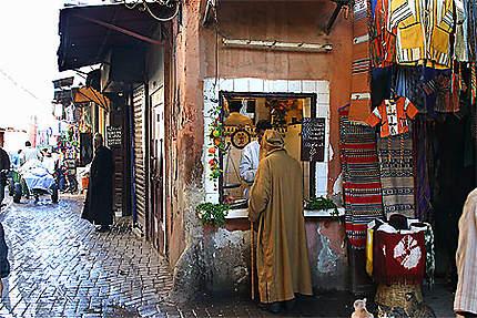 Marrakech, dans la médina