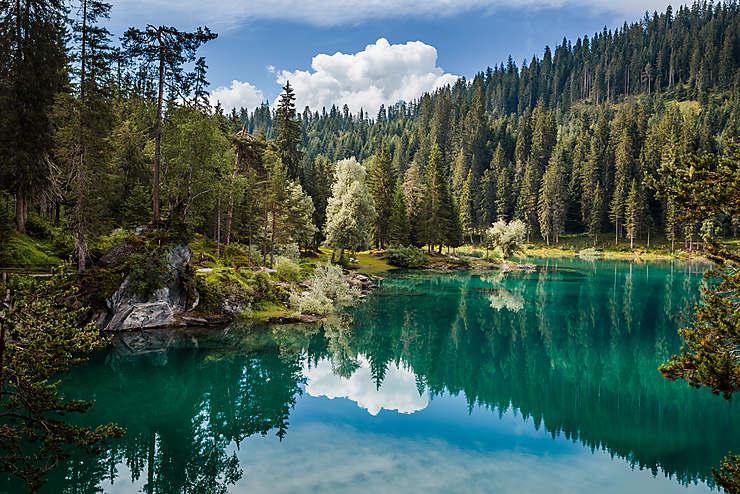 Les Grisons : la Suisse de lac en lac