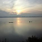 Levé du soleil face à l'île de Don Daeng