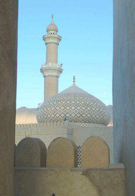 Mosquée de Nizwa, splendeur d'Oman
