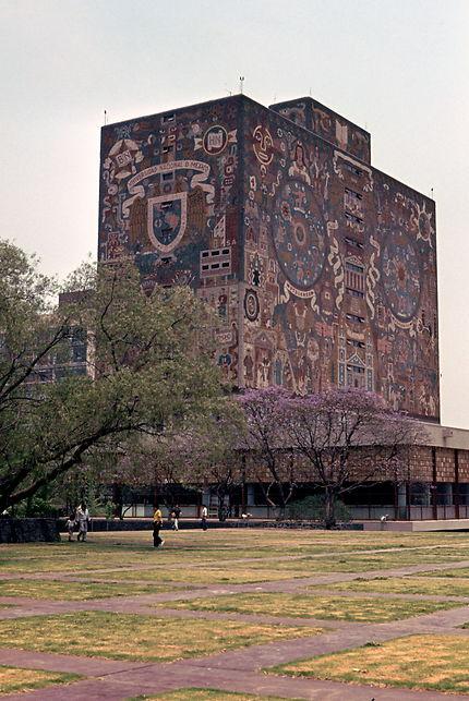 Bibliothèque de l'université de Mexico City