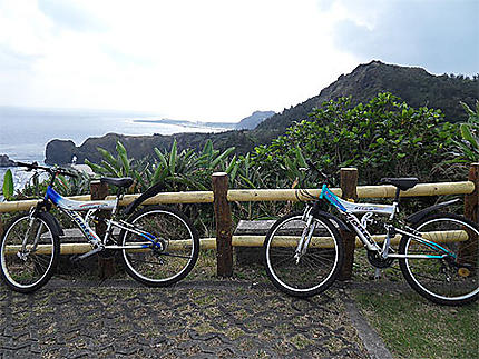 Tour de l'île Verte en vélo
