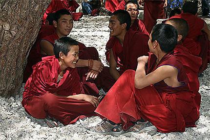 Débats tibétains
