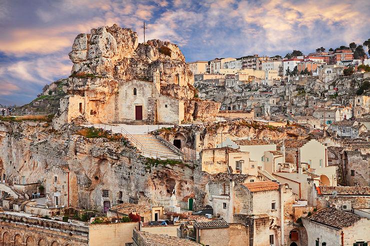 Matera : les sassi, des bas-fonds à l'Unesco