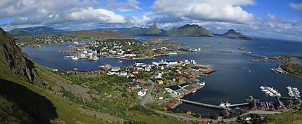 Ballstad depuis Fløya