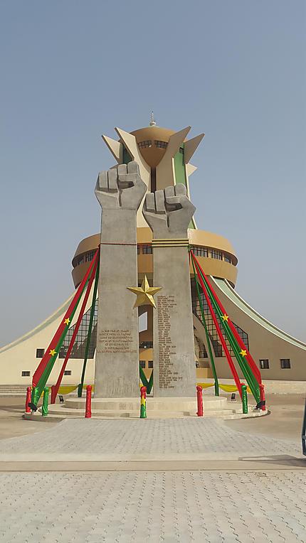 La place des héros de ouagadougou