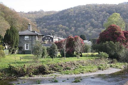 Village au sein du parc de Snowdonia