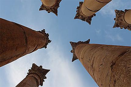 Colonnes du temple d'Artemis