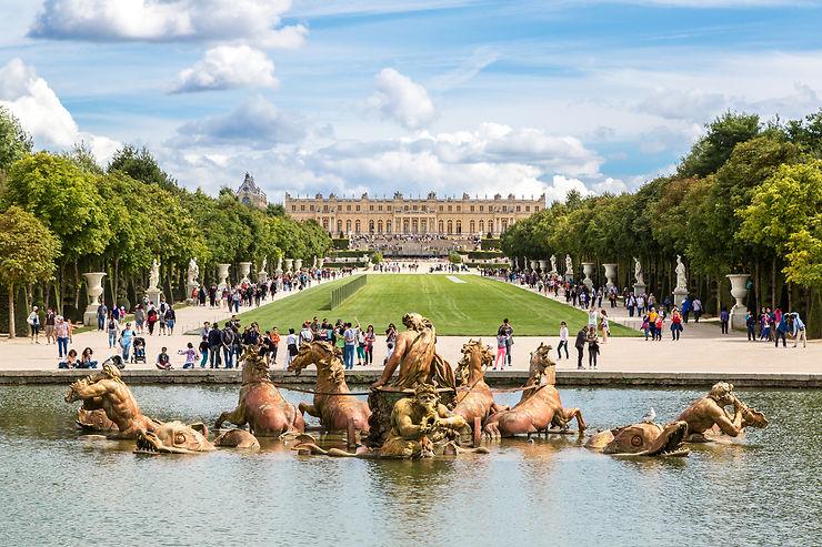 Le château de Versailles (Yvelines)