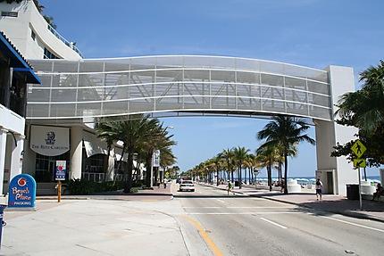 Passerelle à Fort Lauderdale