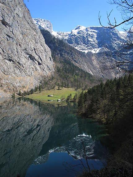 Fischunkelalm, Obersee