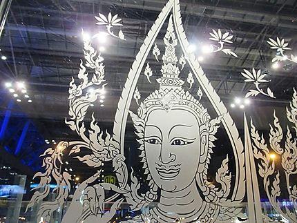Porte de l' aéroport Suvarnabhumi