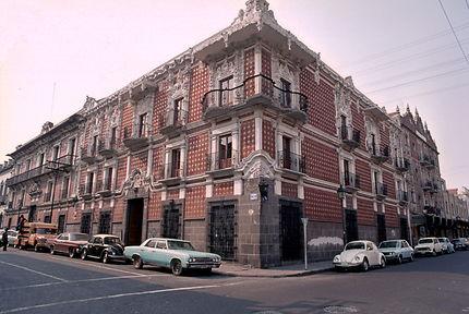 Maison des Alféniques à Puebla