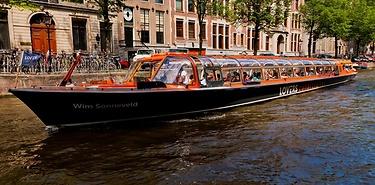 Amsterdam : Croisière sur les canaux à moins de 10€