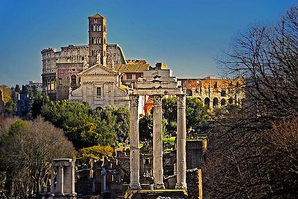 Forum Romain et Colisée, Rome