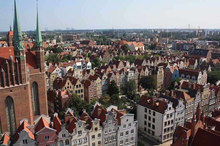 Circuit en solo sac à dos 8 jours été 2018 : Cracovie, Wroklaw, Gdansk, Malbork et Varsovie